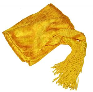 Officers Silk Yellow Sash